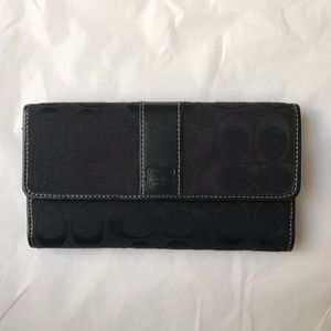 Unique Coach Wallet Notpad holder Combo